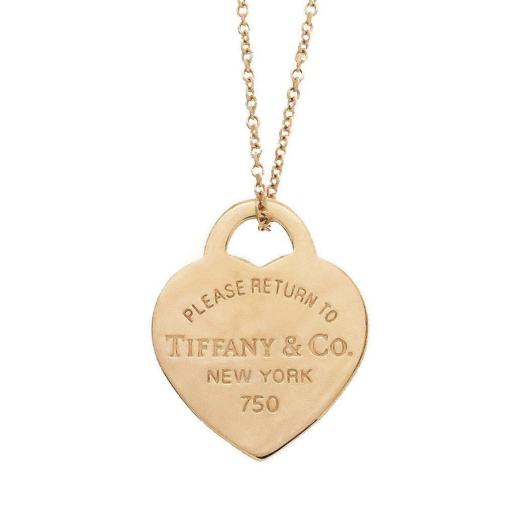 Tiffany & Co. Return to Tiffany 18K Heart Tag Pendant