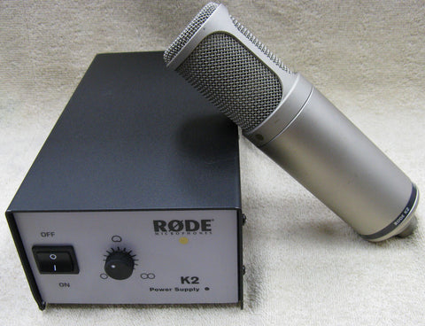 Rode K2 Condenser Microphone & Power Supply