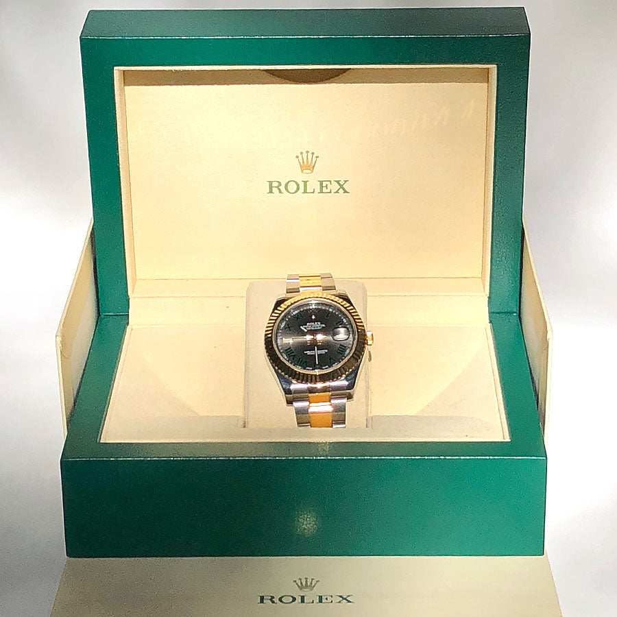 Rolex Datejust II 41mm Slate Dial - Chicago Pawners & Jewelers