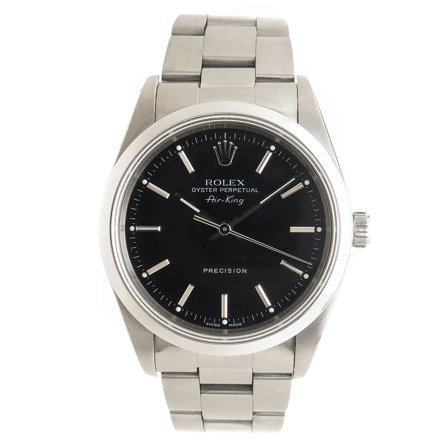 Rolex Air King Black Dial