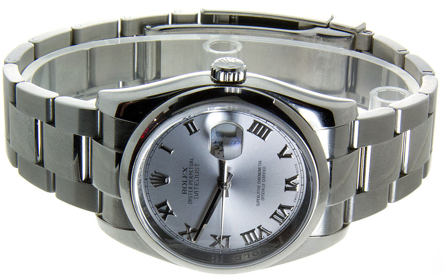 Rolex Datejust SS Rhodium Dial - Chicago Pawners & Jewelers