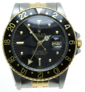 Rolex GMT Master SS/18K - Chicago Pawners & Jewelers