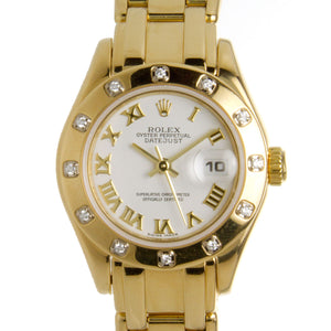 Rolex Lady Datejust Pearlmaster - Chicago Pawners & Jewelers