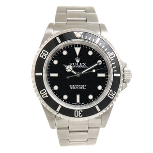 Rolex Submariner No Date SS