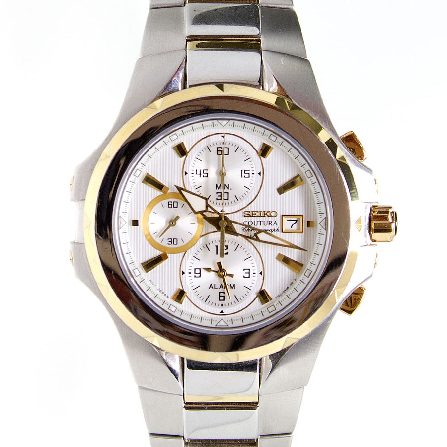 Seiko Coutura Alarm Chronograph SNAD54 - Chicago Pawners & Jewelers