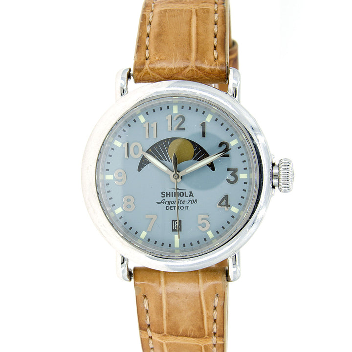 Shinola Runwell 36mm Moonphasel Watch