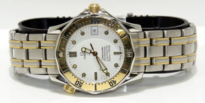 Omega Seamaster 300 SS/18K - Chicago Pawners & Jewelers
