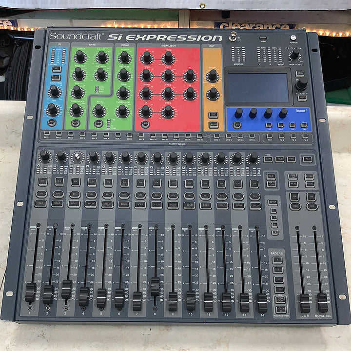 Soundcraft SI Expression 1 Digital Mixing Console with MADI Card - Chicago Pawners & Jewelers