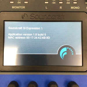Soundcraft SI Expression 1 Digital Mixing Console with MADI Card