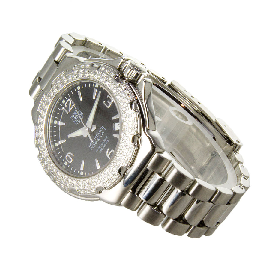 TAG Heuer Ladies Formula 1 Diamond Bezel - Chicago Pawners & Jewelers