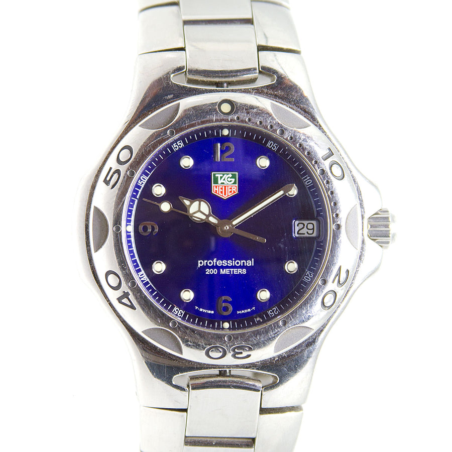 TAG Heuer Kirium Professional Blue Dial - Chicago Pawners & Jewelers