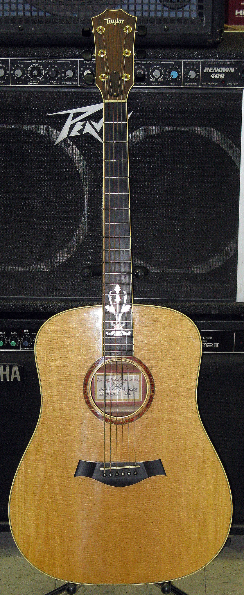 Taylor XXV-DR 25th Anniversary Acoustic Guitar - Chicago Pawners & Jewelers