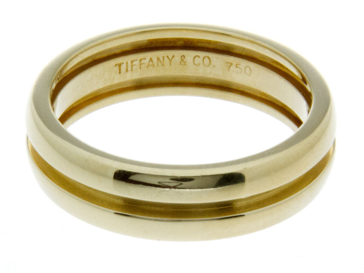Tiffany & Co. 18K Gold Wedding Band