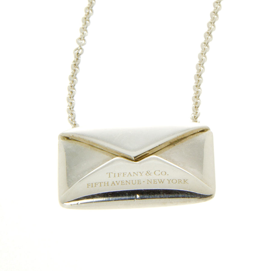 Tiffany & Co. Sweet Nothings Love Note Envelope Necklace - Chicago Pawners & Jewelers
