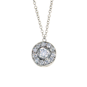 c42347060 Tiffany & Co. Circlet Platinum Diamond Pendant – Chicago Pawners ...