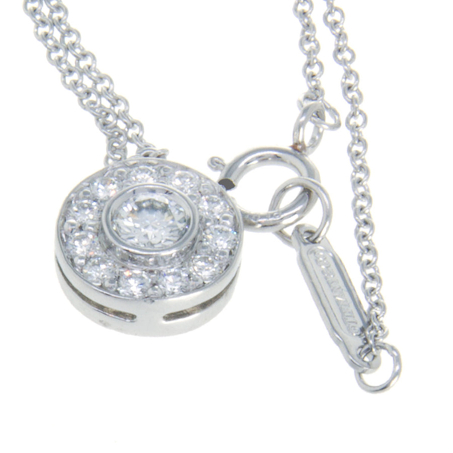 f2a41f75749b2 Tiffany & Co. Circlet Platinum Diamond Pendant – Chicago Pawners ...