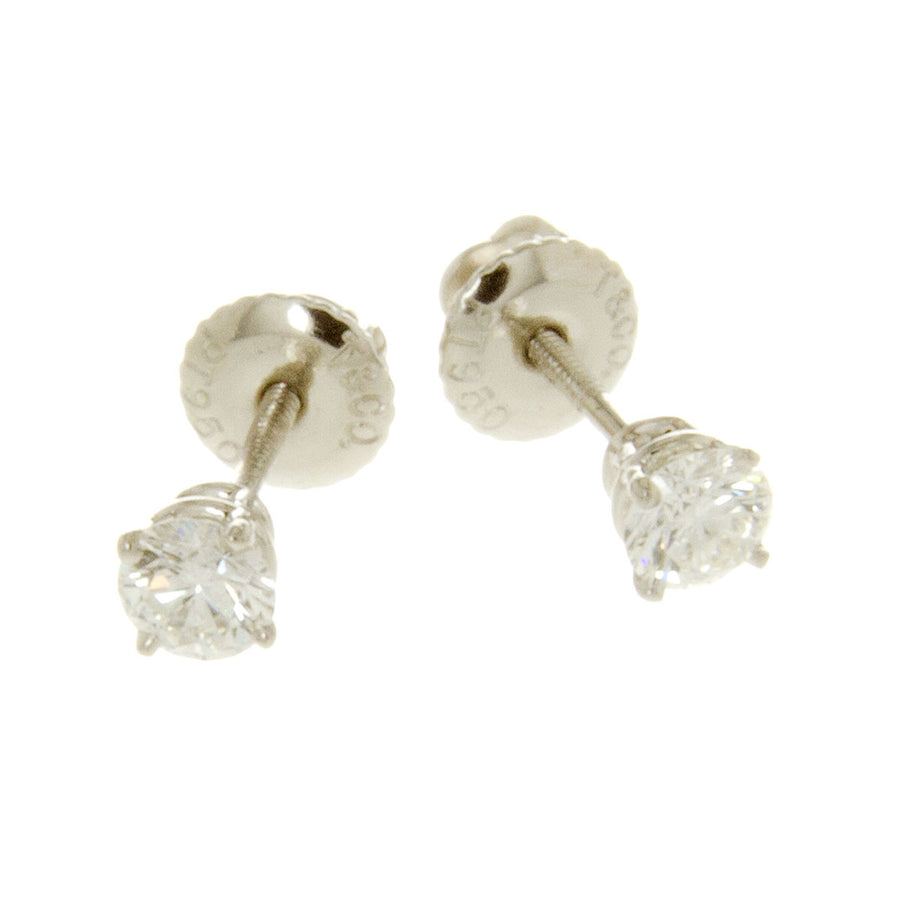 Tiffany & Co. 0.50ct Diamond Stud Earrings - Chicago Pawners & Jewelers