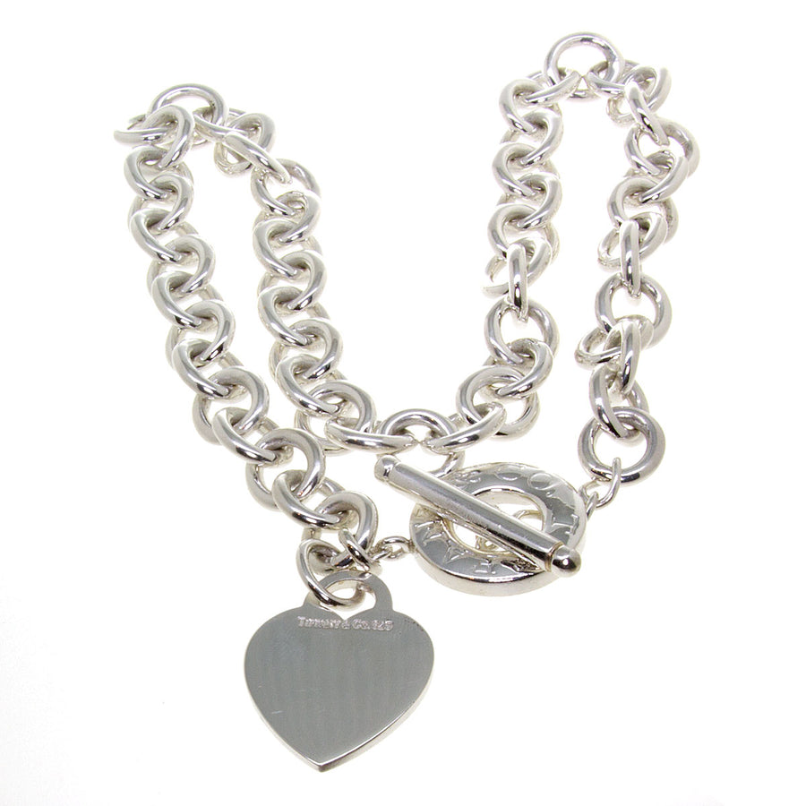 Tiffany & Co. Heart Charm Toggle Necklace - Chicago Pawners & Jewelers