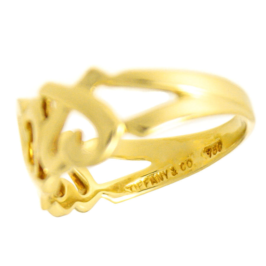ee9d5d6d2 Tiffany & Co. Paloma Picasso 18kt Loving Heart Ring – Chicago ...