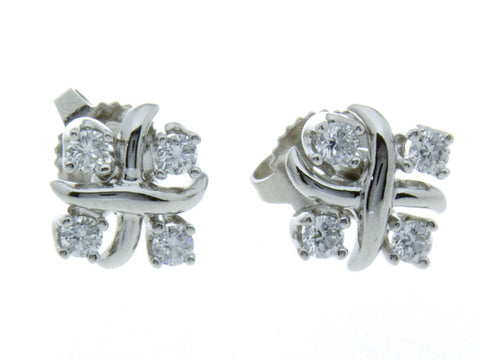 Tiffany & Co. Schlumberger Lynn Diamond Earrings