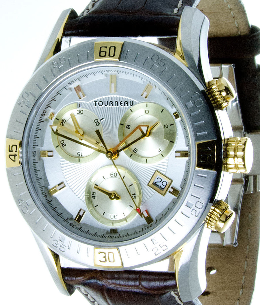 Tourneau TMRS Chronograph Watch - Chicago Pawners & Jewelers