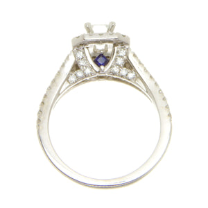 Vera Wang Love Diamond Double Halo Engagement Ring - Chicago Pawners & Jewelers