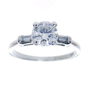 Vintage 1.02ct Diamond Engagement Ring