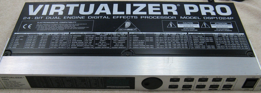 Behringer Virtualizer Pro DSP1024P - Chicago Pawners & Jewelers