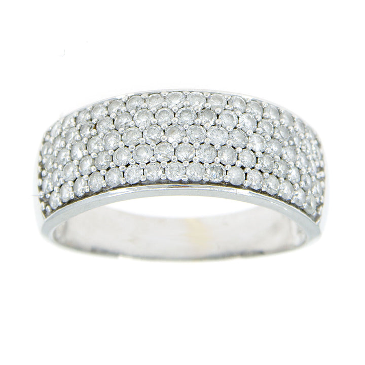 2.00ct Pavé Diamond Band Ring