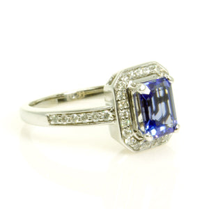 2.00ct Tanzanite & Diamond Ring - Chicago Pawners & Jewelers