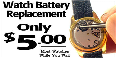 Watch Battery Replacement