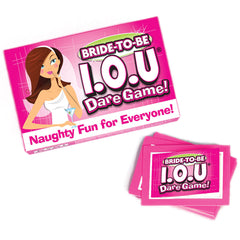 Bride to Be IOU Dare Game