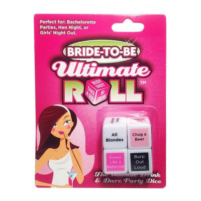 Bride to Be Ultimate Roll Dice - Las Vegas Bachelorette Party