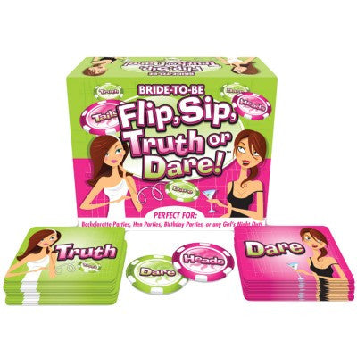 Bride to Be Flip, Sip, Truth or Dare! - Las Vegas bachelorette parties