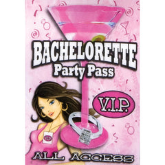 Bachelorette Party Pass VIP Dare Game