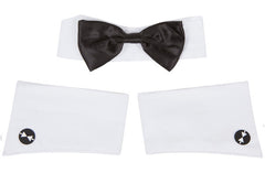 Chippendales Cuffs & Collar. Halloween Costume