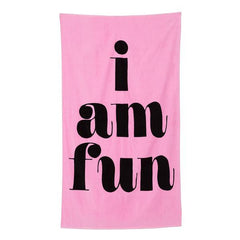 Giant beach towel - Chippendales las vegas bachelorette party