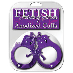 Fetish Fantasy Anodized Cuffs Pink
