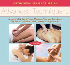 Advanced Technique: Myofascial and Deep Tissue Massage Therapy Technique Volume 1 2-DVD Training
