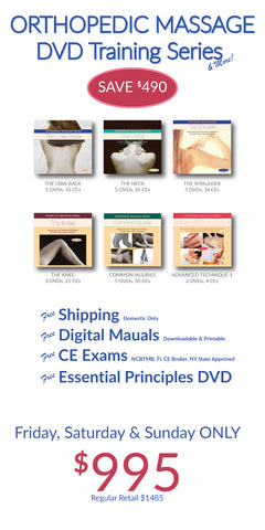 Orthopedic Massage 28-DVD Training Series SAVE $490