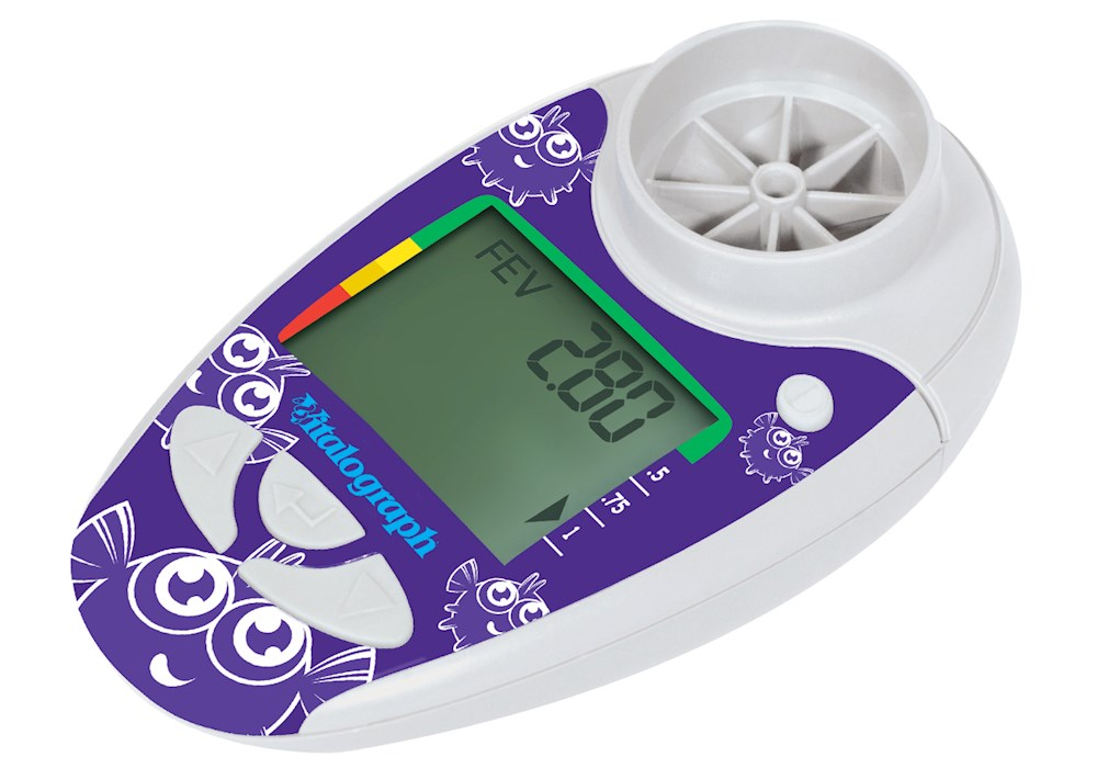 Asma-1 Pediatric Electronic Asthma Monitor