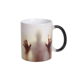 The walking dead Mug color changing Heat Sensitive Ceramic - Sunshine & Some Tea