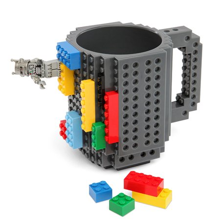 Image of The Original Build-On Brick Mug