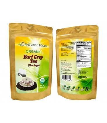 Image of EARL GREY TEA (BAGS) - ORGANIC