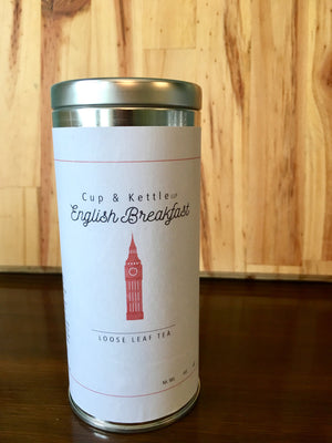 English Breakfast Tea 3 oz Tin - Sunshine & Some Tea