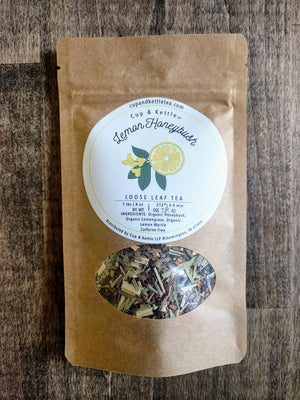 Organic Lemon Honey-Bush Tea 1 oz Bag - Sunshine & Some Tea