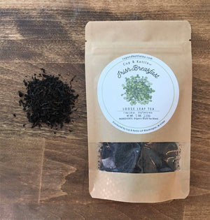 Organic Irish Breakfast Tea 1 oz Bag - Sunshine & Some Tea