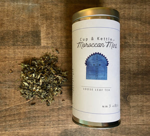 Moroccan Mint Tea 3 oz Tin - Sunshine & Some Tea