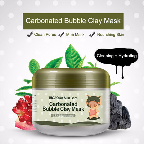 Image of Deep Cleaning Moisturizing Carbonated Bubble Clay Mask - Sunshine & Some Tea
