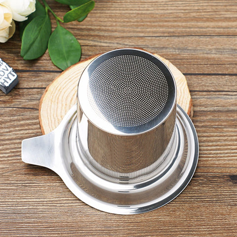 Stainless Steel Tea Filter/Strainer - Sunshine & Some Tea